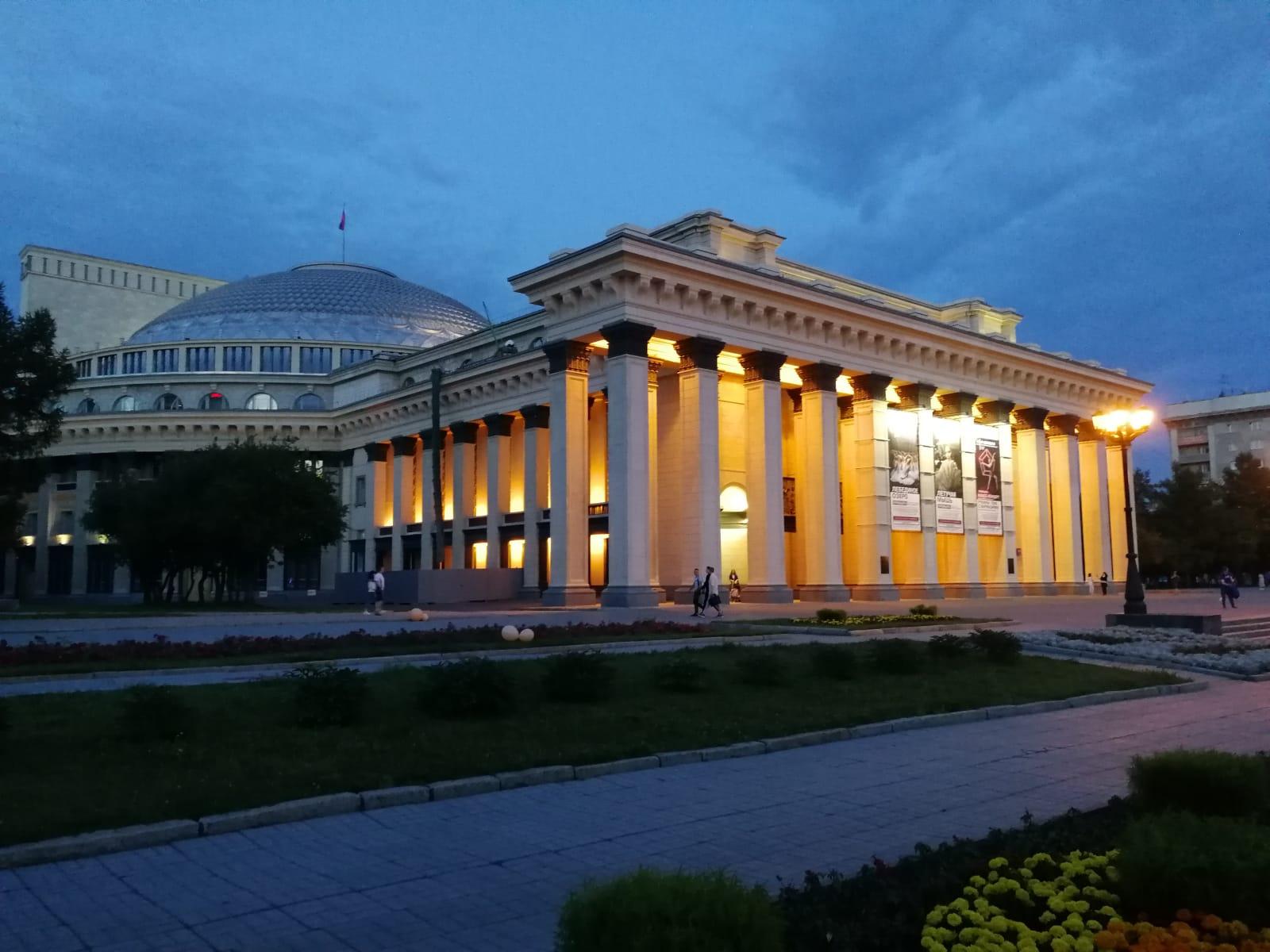 市中心的大列宁图书馆