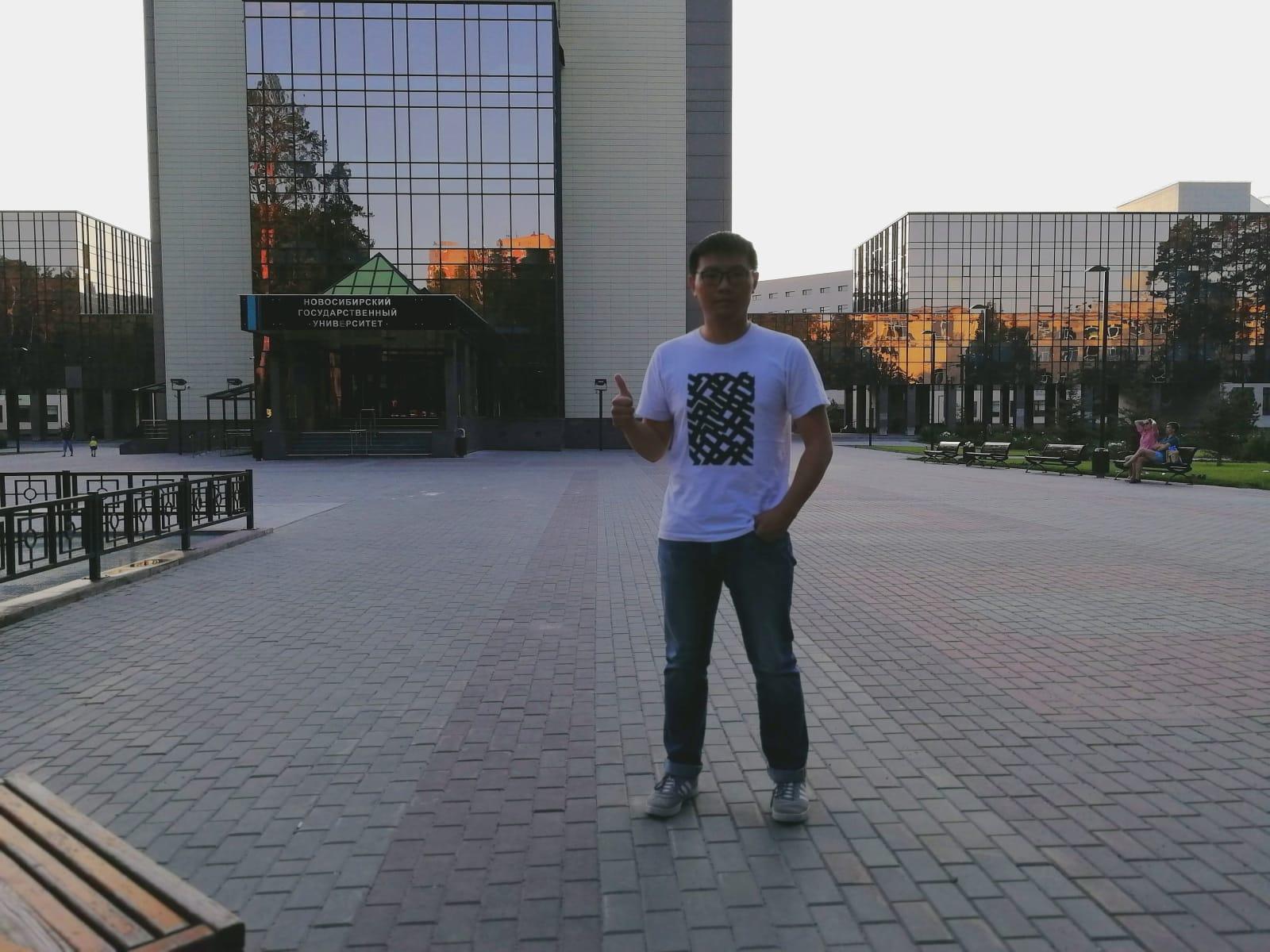2019年小编访问新西伯利亚国立大学
