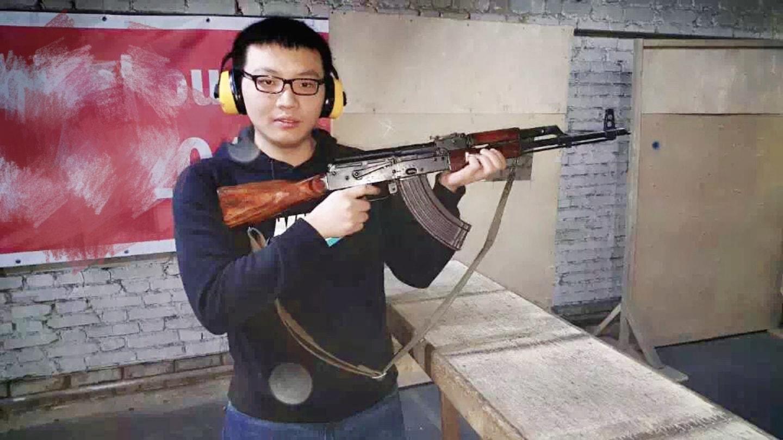 用AK-47靶场打靶 俄罗斯留学的真实生活 俄罗斯留学 俄罗斯的生活 留学生活