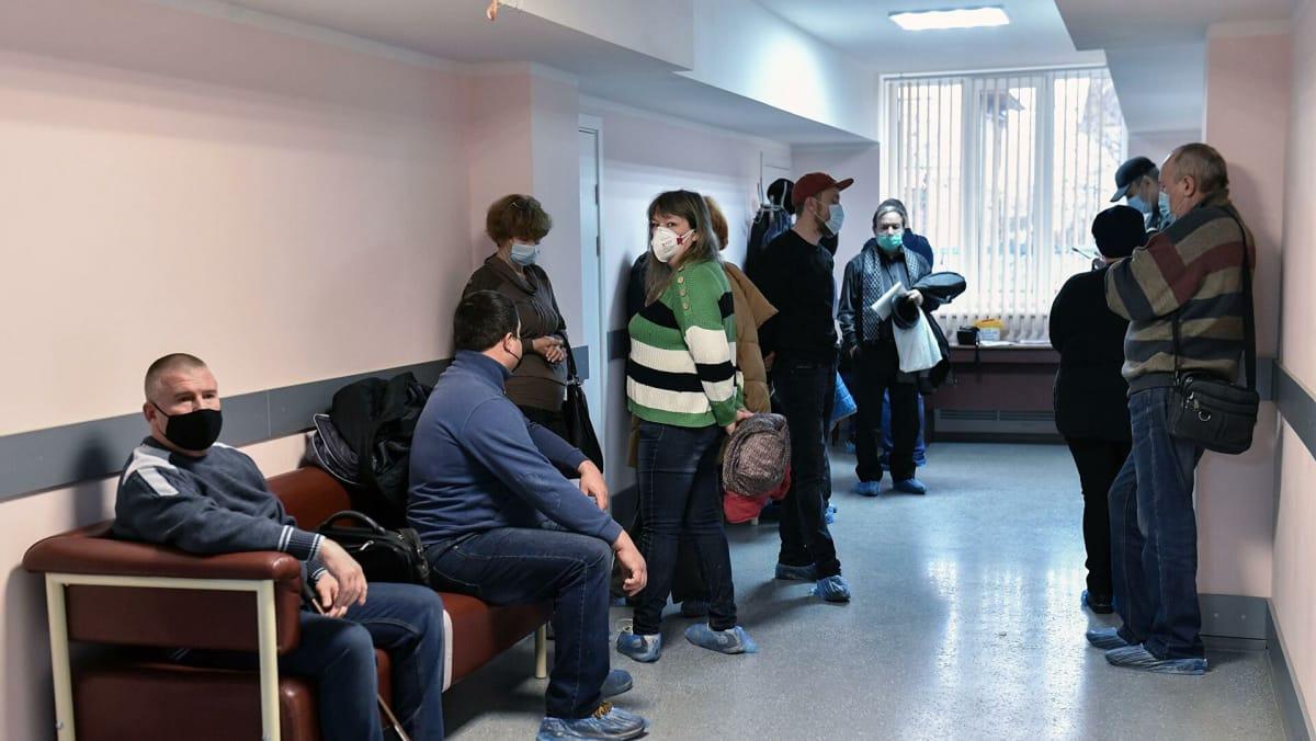 医院中的俄罗斯公民 新冠肺炎疫情 俄罗斯疫情 俄罗斯疫情最新消息 